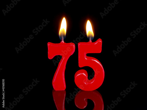 Birthday Anniversary Candles Showing Nr 75