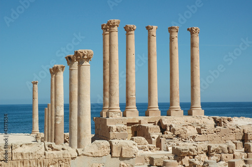 Libia. Sabratha tempio di Iside