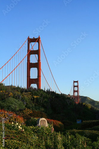 Keuken foto achterwand Art Studio Golden Gate Bridge