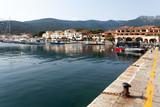 Fototapeta Do pokoju - View Of Small Port Of Marciana At Dusk