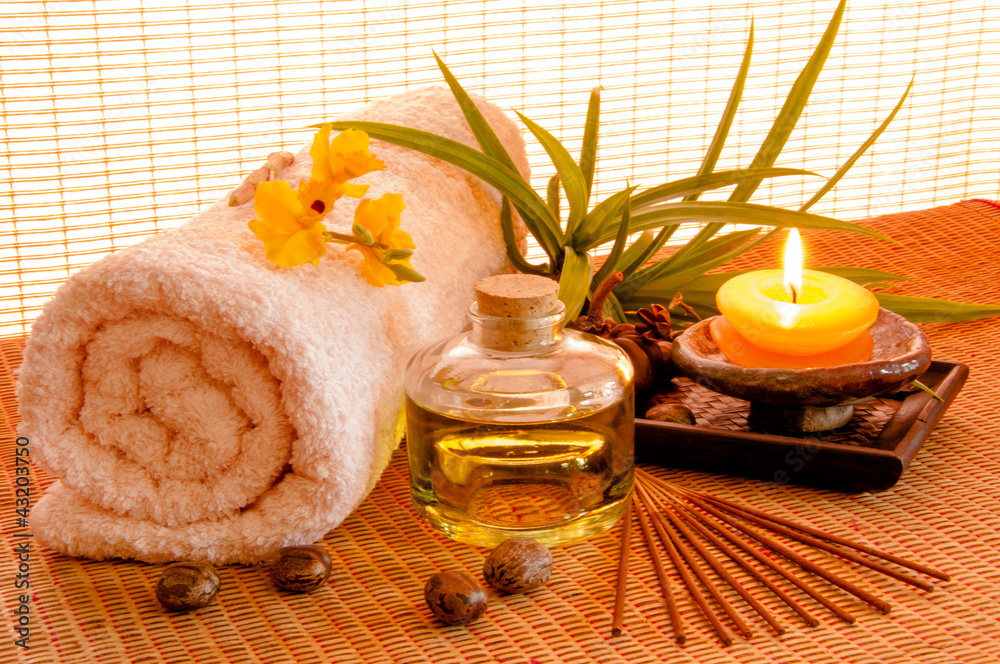 Plissee mit Motiv - Aroma Therapy