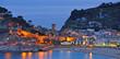 canvas print picture - der bekannte Bade-und Touristenort Tossa de Mar