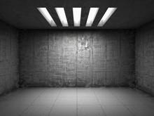 Empty Grunge Room