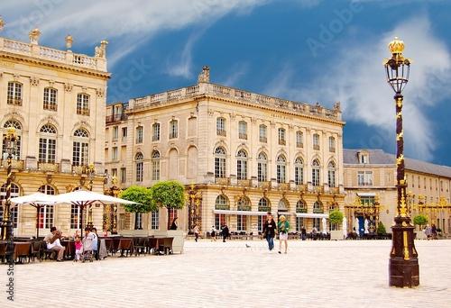 Valokuvatapetti La place Stanislas à Nancy en Lorraine, France