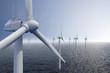 Leinwandbild Motiv Wind park