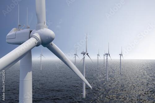 Obraz na plátne Wind park