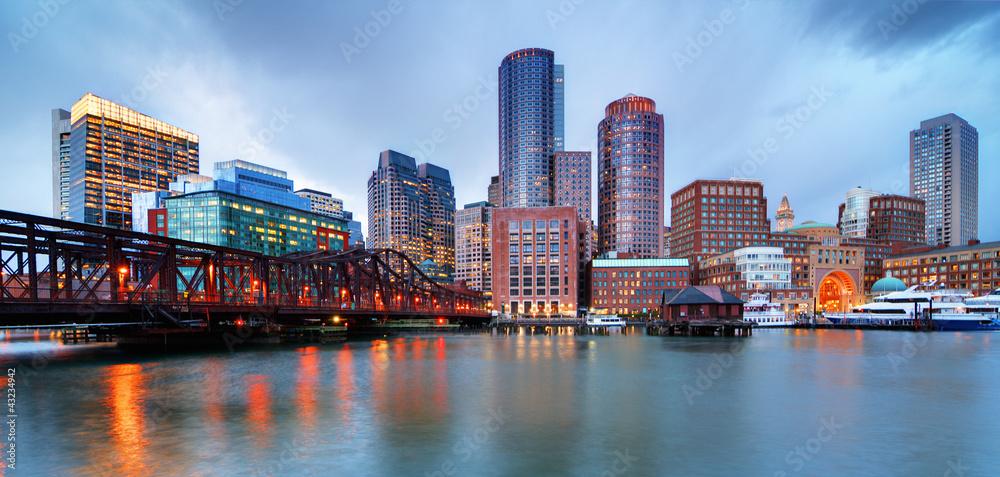 Fototapety, obrazy: Boston waterfront