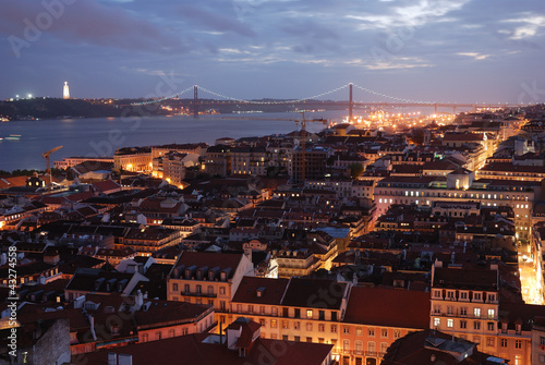 Photo  View over Lisbon