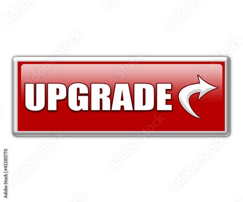 Upgrade Button Mit Pfeil
