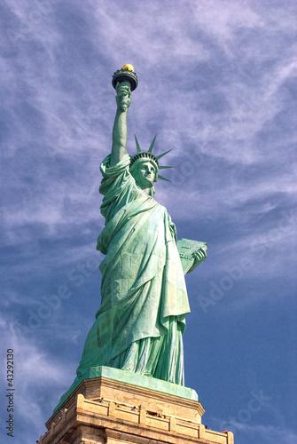 Fotografie, Obraz  Statue Of Liberty-Manhattan-Liberty Island-NY