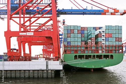 Cuadros en Lienzo  Containerterminal 1