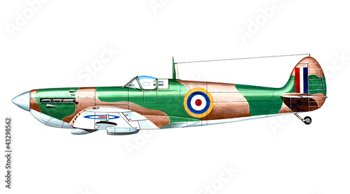 Fotografie, Obraz  spitfire 1