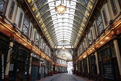 Leadenhall Market in the City of London #43302973