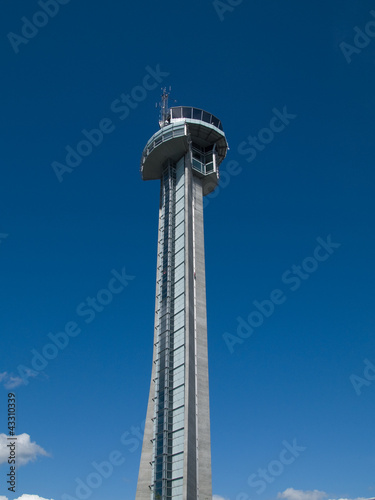 Air Traffic Control Tower Poster