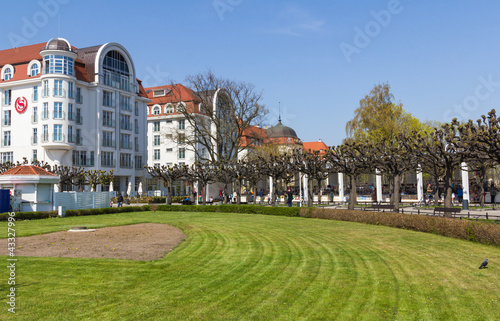 Hotels in Sopot on the Baltic Sea, Poland
