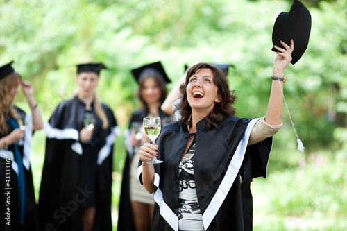 Poster Equitation Bachelor graduates celebrate