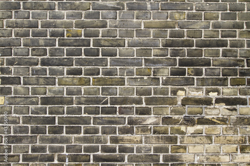 Fotobehang Graffiti Brick Texture