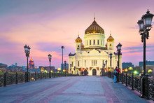 Moscow. The Temple Of Christ The Savior.