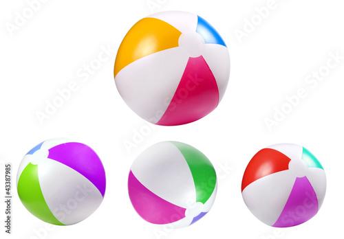 Fototapeta Inflatable beach ball obraz