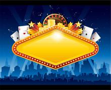Casino City Background