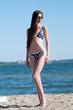 Beautiful woman on the Beach