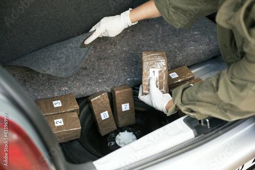 Photo  drug smuggling