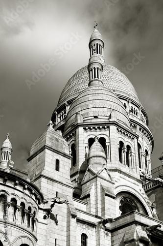 Photo sur Toile Art Studio Basilica del Sacre-Coeur, Paris, Ille de France, Francia
