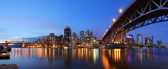 Granville Bridge and Downtown Vancouver