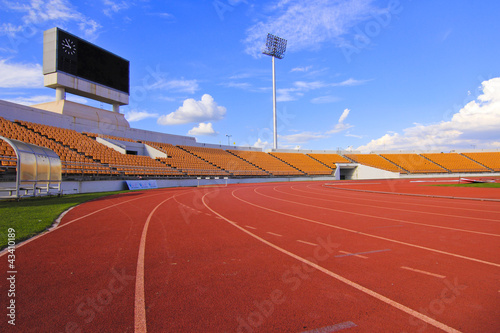 Papiers peints Stade de football Track & stadium