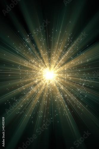Fotografie, Obraz  輝く星