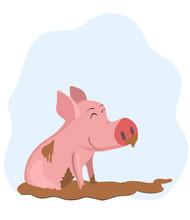 Pig In The Mud