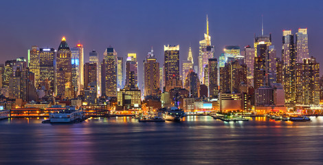 Fototapeta Nowy York Manhattan at night
