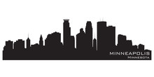 Minneapolis, Minnesota Skyline...