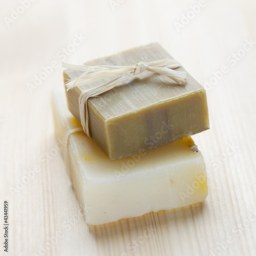Fotografie, Obraz  Soap bars with natural ingredients
