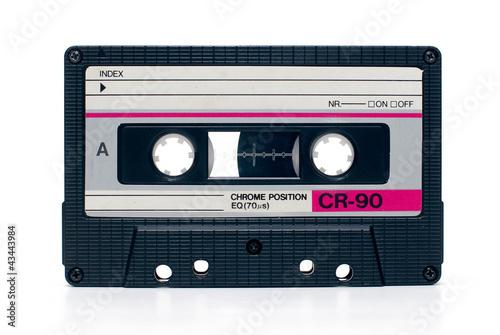 Tableau sur Toile vintage audio tape cassete