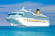 canvas print picture - Cruise liner