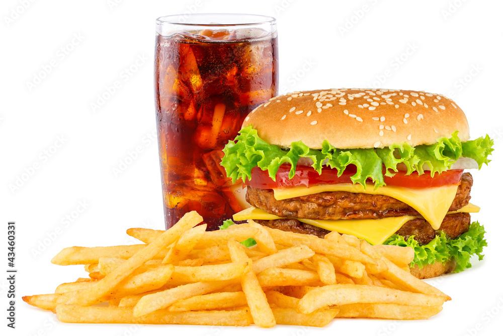 Fotografie, Obraz  Nabídka cheesesburger
