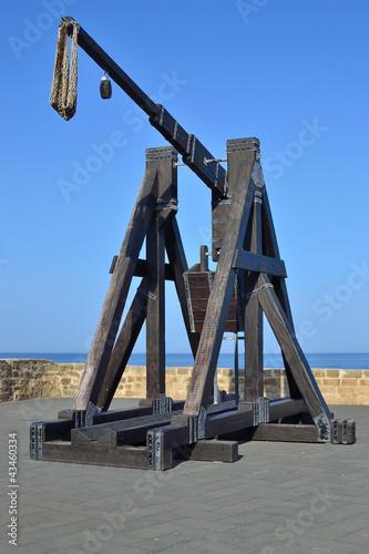 Fotografía  Le catapulte sui bastioni di Alghero
