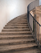 Stone Stairs In An Old Palace