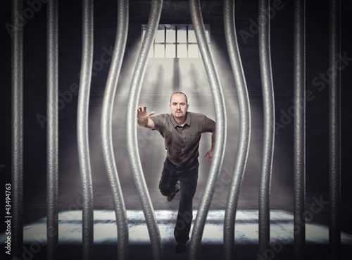 Photo  escape from jail