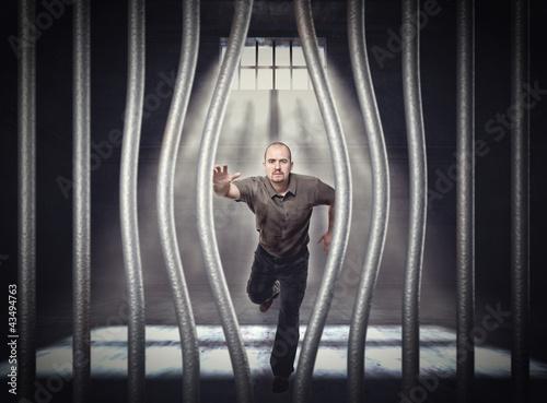 Fotografia, Obraz  escape from jail