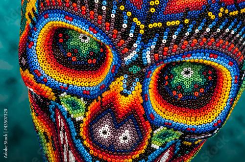 Beaded skull eyes - 43507329