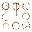 coffee tea cup prints rings