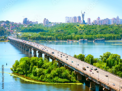 Staande foto Kiev Kiev City - the capital of Ukraine