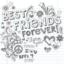 Best Friends Forever Sketchy D...