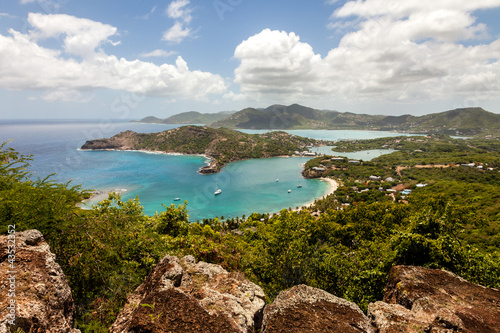 English Harbour Nelson's Dockyard Antigua Caribbean Canvas Print