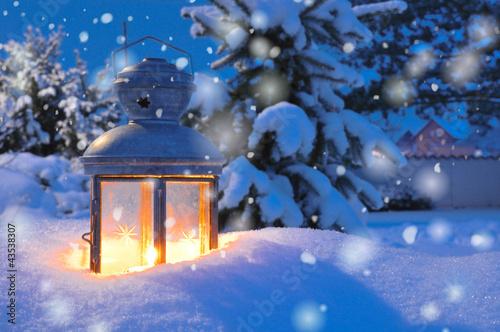 Foto-Leinwand ohne Rahmen - Winterlicht (von Stefan Körber)