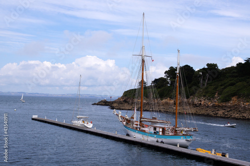 Ancien Voilier 2 Mats En Bois Acoste A Douarnenez Buy This Stock Photo And Explore Similar Images At Adobe Stock Adobe Stock