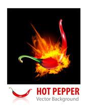 Burning Chili Pepper