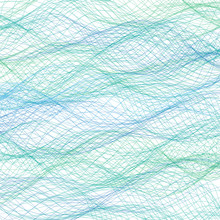 Abstract Blue Lines Background. Vector